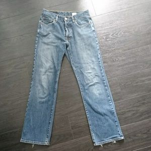 LUCKY Brand Straight Cut Jeans Button Fly Sz 29